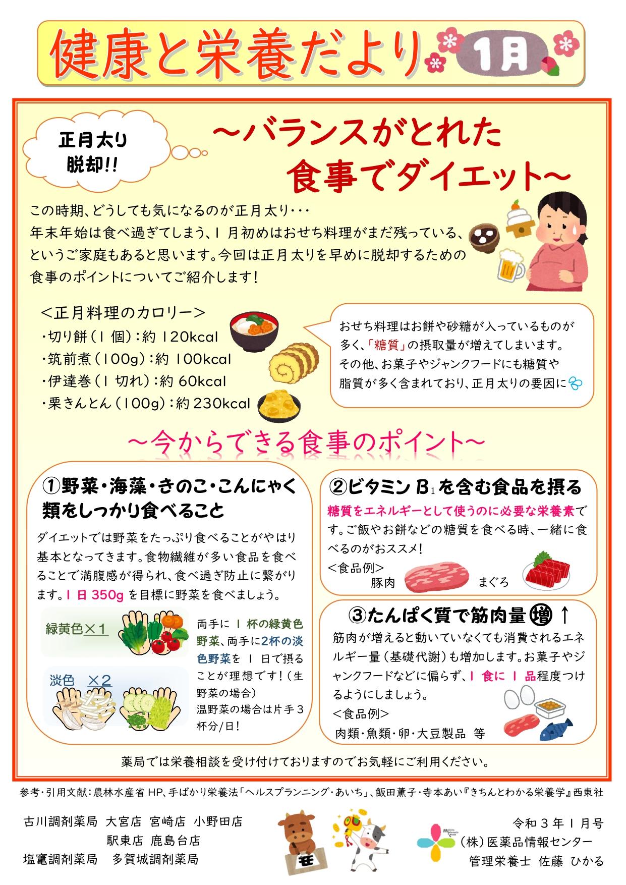 パンフレット用R3年1月 正月太り解消_page-0001